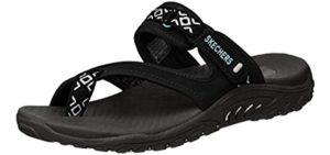 Skechers Women's Reggae Trailway - Casual Wear Memory Foam Sandals