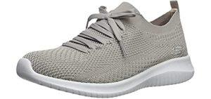 Skechers Women's Ultra Flex Statements - Mesh Knit Sneakers