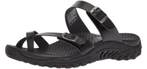 Skechers Women's Reggae Carribean - Memory Foam Comfort Sandals