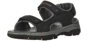 Skechers Men's Tresmen Garo - comfortable Memory Foam Sandals