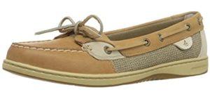 Sperry Women's Angelfish - No Socks Boat Shoe