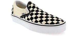Vans Women's Classic - Slip On Shoes for No Socks