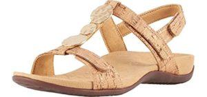 Vionic Women's Rest Farra - Sandals for Peroneal Tendinitis