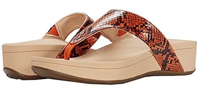Vionic Women's Naples - Flat Feet Platform Sandal