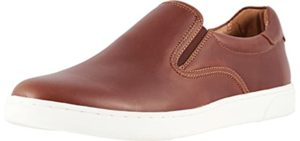 Vionic Men's Brody - Slip On Shoes for Wide and Flat Feet