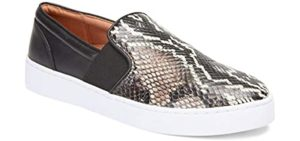 Vionic Women's Demetra - Slip On Shoes for Wide and Flat Feet