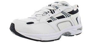 Vionic Orthaheel Men's Walker - Ankle Support Walking Shoes