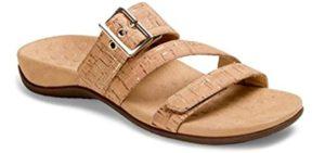 Vionic Women's Rest Skyler - Achilles Tendonitis Slide Sandals