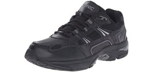 Vionic Men's Orthaheel Walker - Concrete Walking and Standing Shoe