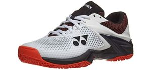 Yonex Men's Power Cushion Eclipsion L - Cushioned Tennis Shoes