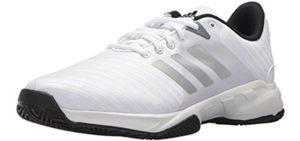 Adidas Women's Barricade 3 - Tennis Shoe for Flat Feet