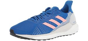 Adidas Women's Solar Glide 19 - Walking and Running Shoes for Plantar Fasciitis