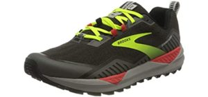 Brooks Men's Cascadia 15 - Trail Shoe for Standing All Day