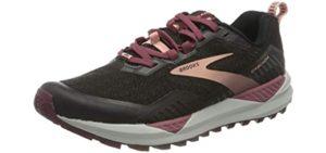 Brooks Women's Cascadua 15 - Trail Shoe for Standing All Day