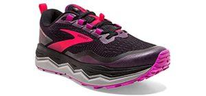 Brooks Women's Caldera 5 - Achilles Tendinitis Trail Shoe